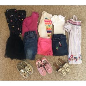 Other - Clothes and shoes for girls size 5/6